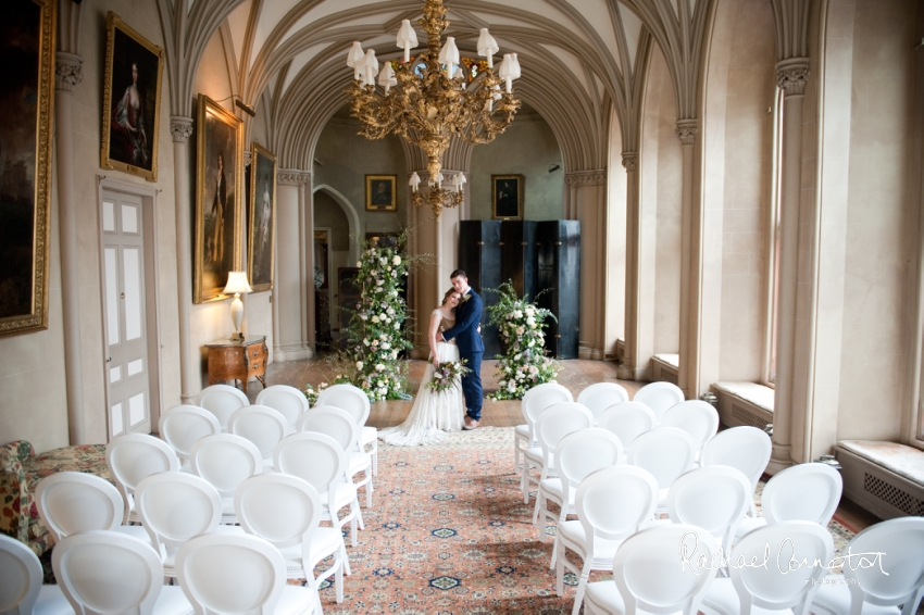 Professional colour photograph of English Wedding Blog Belvoir Castle styled shoot by Rachael Connerton Photography